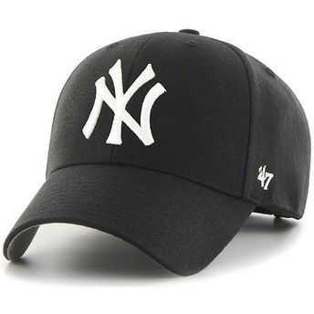 Casquette courbée noire pour enfant New York Yankees MLB MVP 47 Brand