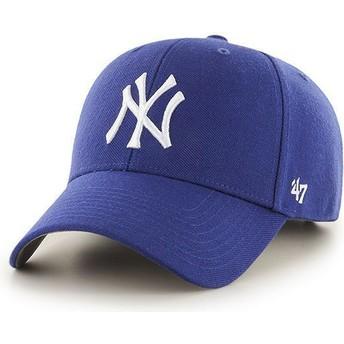 Casquette courbée bleue pour enfant New York Yankees MLB MVP 47 Brand