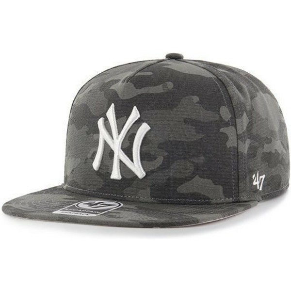 casquette-plate-noire-camouflage-snapback-new-york-yankees-mlb-captain-dt-47-brand