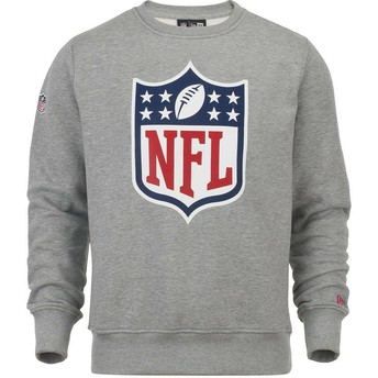 Sweat-shirt gris Crew Neck NFL New Era
