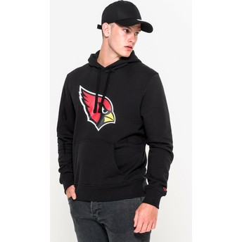 Sweat à capuche noir Pullover Hoodie Arizona Cardinals NFL New Era