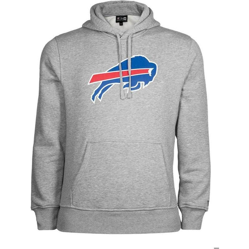 Sweat à capuche gris Pullover Hoodie Buffalo Bills NFL New Era