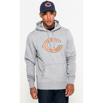 Sweat à capuche gris Pullover Hoodie Chicago Bears NFL New Era