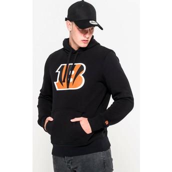 Sweat à capuche noir Pullover Hoodie Cincinnati Bengals NFL New Era