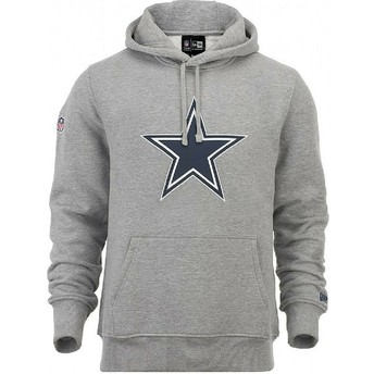 Sweat à capuche gris Pullover Hoodie Dallas Cowboys NFL New Era