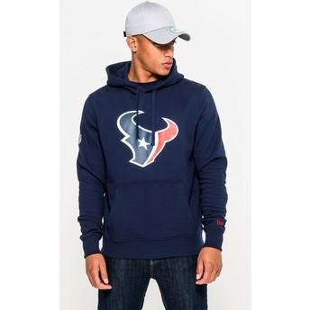 Sweat à capuche bleu Pullover Hoodie Houston Texans NFL New Era