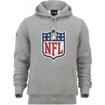 Sweat à capuche gris Pullover Hoodie NFL New Era