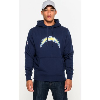 Sweat à capuche bleu Pullover Hoodie San Diego Chargers NFL New Era