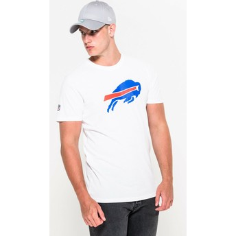 T-shirt à manche courte blanc Buffalo Bills NFL New Era
