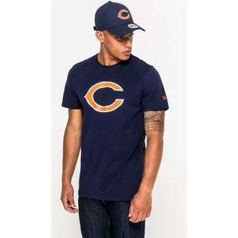 T-shirt à manche courte bleu Chicago Bears NFL New Era