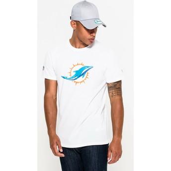 T-shirt à manche courte blanc Miami Dolphins NFL New Era