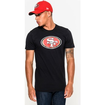 T-shirt à manche courte noir San Francisco 49ers NFL New Era