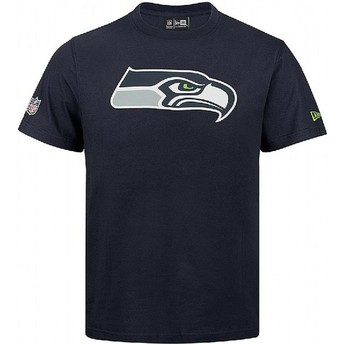 T-shirt à manche courte bleu Seattle Seahawks NFL New Era