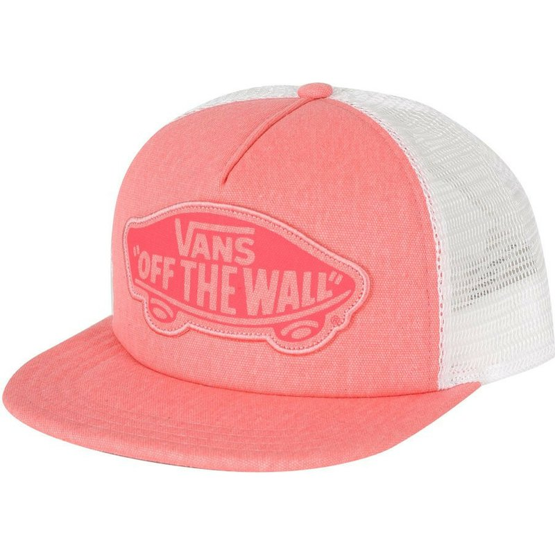 casquette-trucker-rose-beach-girl-vans