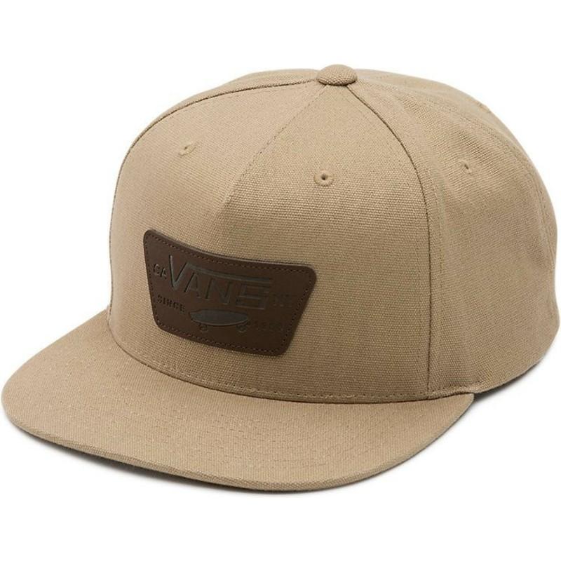 casquette vans marron