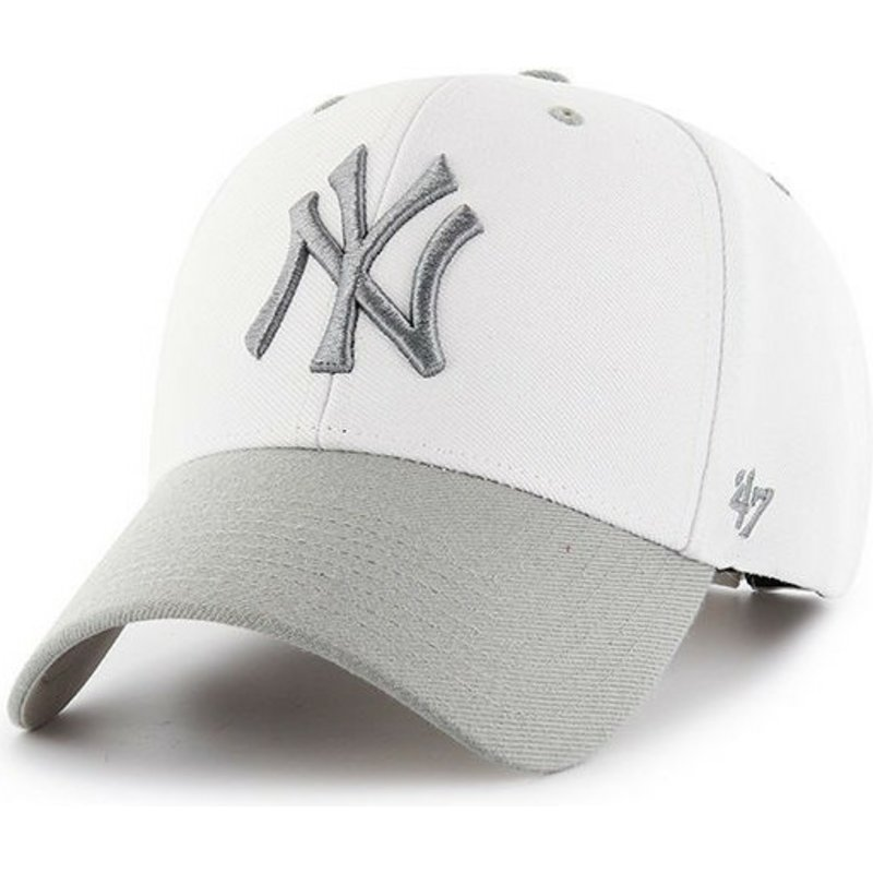 casquette courb e blanche new york yankees mlb audible 2. Black Bedroom Furniture Sets. Home Design Ideas