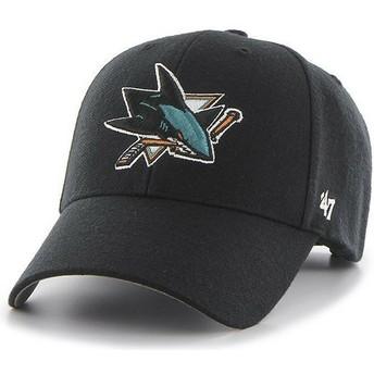 Casquette courbée noire San Jose Sharks NHL MVP 47 Brand