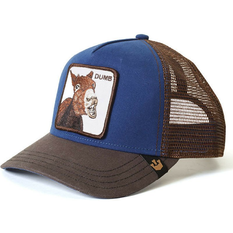 casquette-trucker-bleue-ane-dumbass-goorin-bros