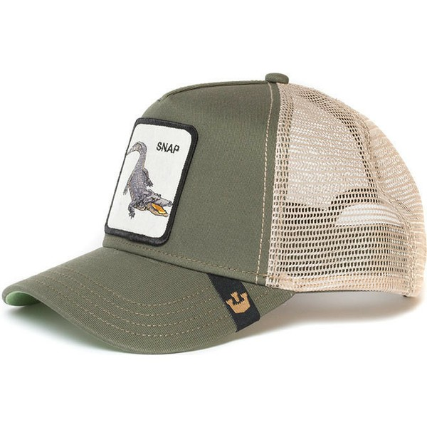casquette-trucker-verte-crocodile-snap-at-ya-goorin-bros