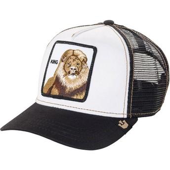 Casquette trucker noire lion King Goorin Bros.