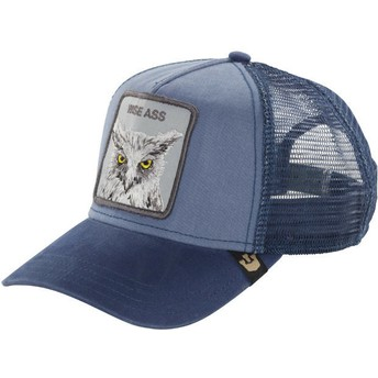 Casquette trucker bleue hibou Smarty Pants Goorin Bros.