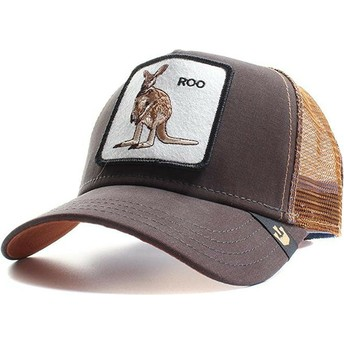 Casquette trucker marron kangourou Roo Goorin Bros.