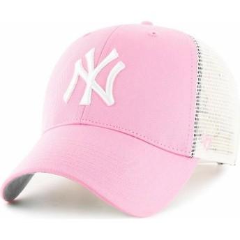 Casquette trucker rose New York Yankees MLB 47 Brand