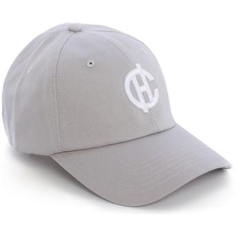 Casquette courbée grise Aspen avec logo CH Caphunters
