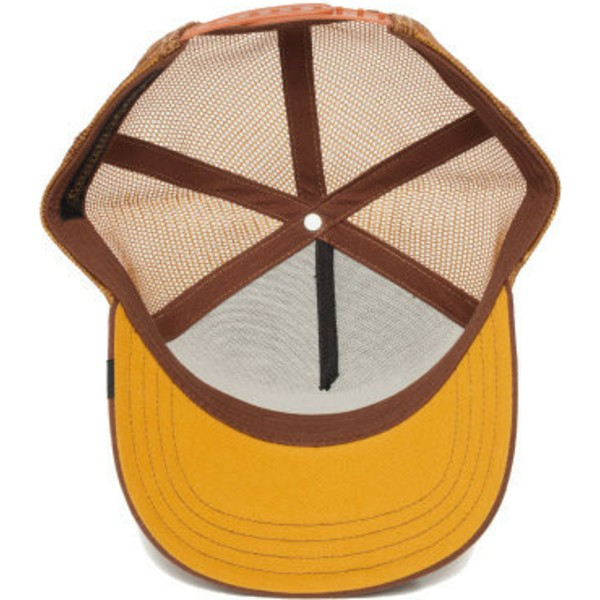casquette-trucker-marron-ane-bad-bad-ass-goorin-bros