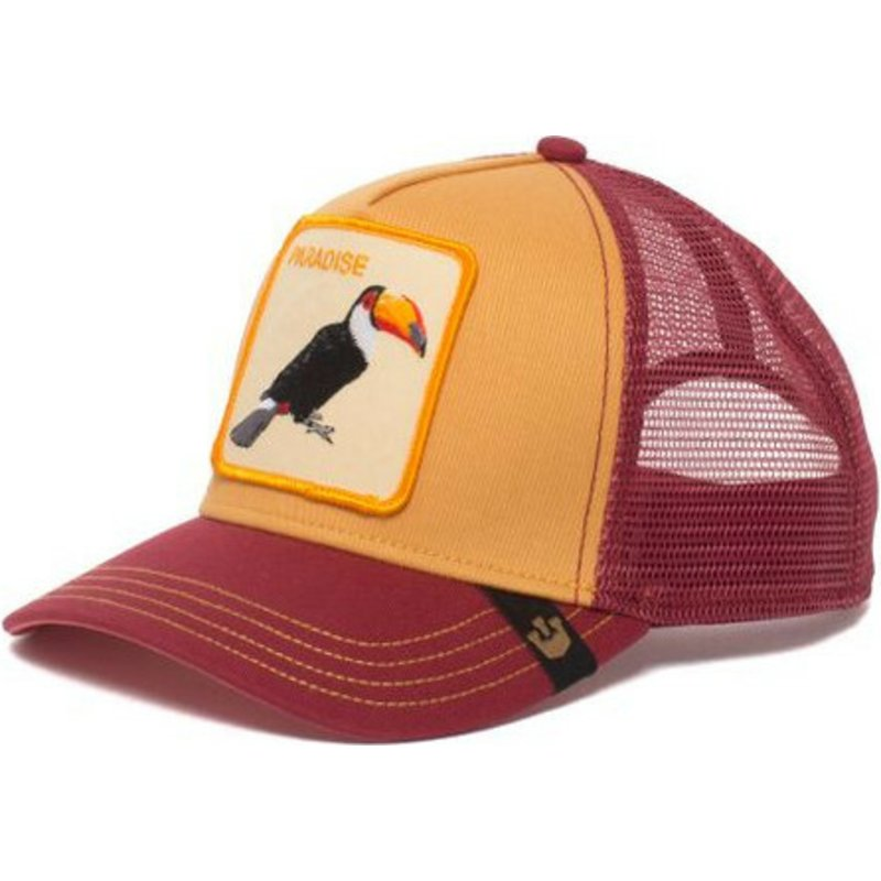 casquette-trucker-jaune-toucan-take-me-to-goorin-bros