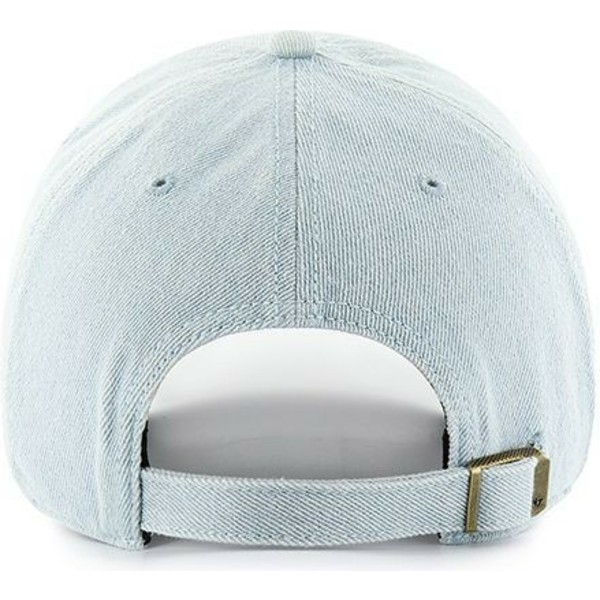 casquette-courbee-bleue-claire-new-york-yankees-mlb-clean-up-meadowood-47-brand
