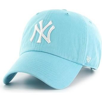 Casquette courbée bleue caraïbes New York Yankees MLB Clean Up 47 Brand