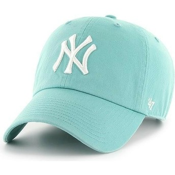 Casquette courbée bleue lune New York Yankees MLB Clean Up 47 Brand
