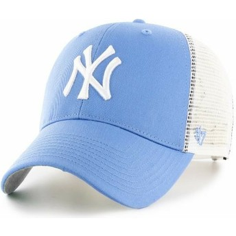 Casquette trucker bleue claire New York Yankees MLB MVP Branson 47 Brand