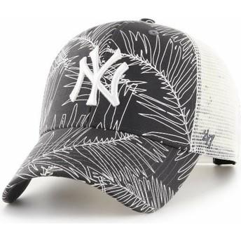 Casquette trucker noire New York Yankees MLB MVP Palma 47 Brand