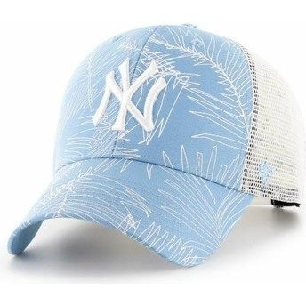 Casquette trucker bleue claire New York Yankees MLB MVP Palma 47 Brand