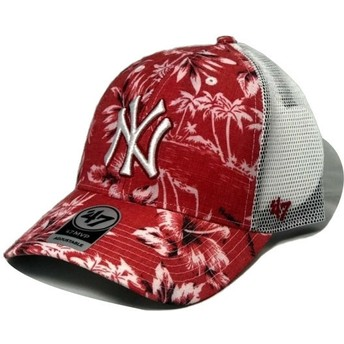 Casquette trucker rouge New York Yankees MLB MVP South Coast 47 Brand