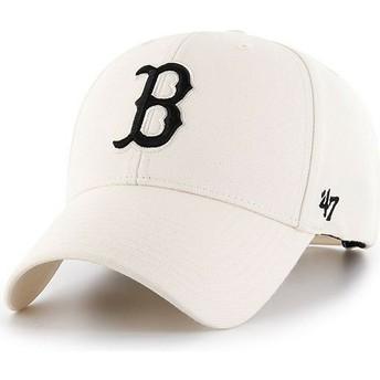 Casquette courbée crème snapback Boston Red Sox MLB MVP 47 Brand