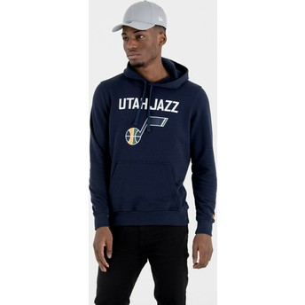 Sweat à capuche bleu marine Pullover Hoody Utah Jazz NBA New Era