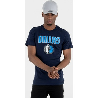 T-shirt à manche courte bleu marine Dallas Mavericks NBA New Era