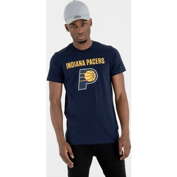 T-shirt à manche courte bleu marine Indiana Pacers NBA New Era