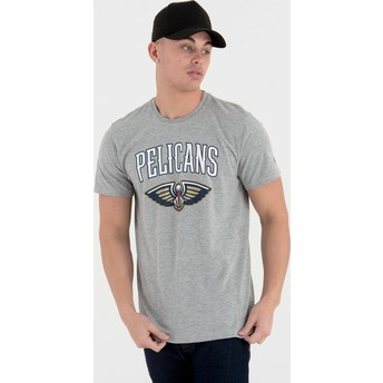 T-shirt à manche courte gris New Orleans Pelicans NBA New Era