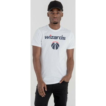T-shirt à manche courte blanc Washington Wizards NBA New Era
