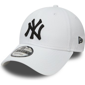 5680102c0ba2e Casquette courbée blanche ajustable 9FORTY Essential New York Yankees MLB  New Era