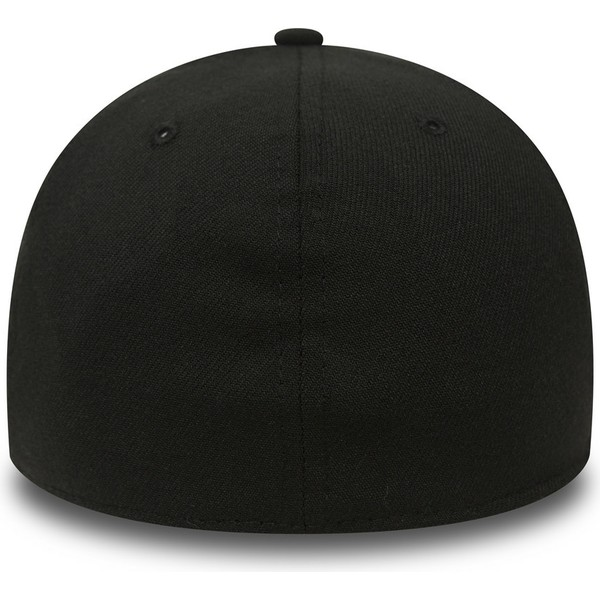 casquette-courbee-noire-ajustee-39thirty-basic-flag-new-era
