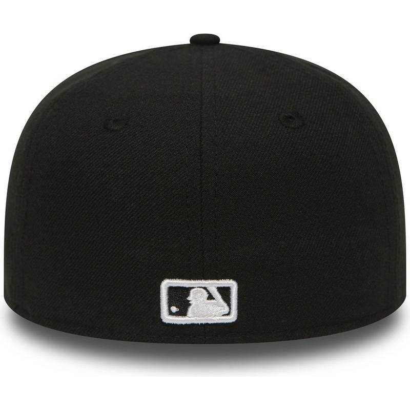 best more photos innovative design Casquette plate noire ajustée pour enfant 59FIFTY Essential New York  Yankees MLB New Era