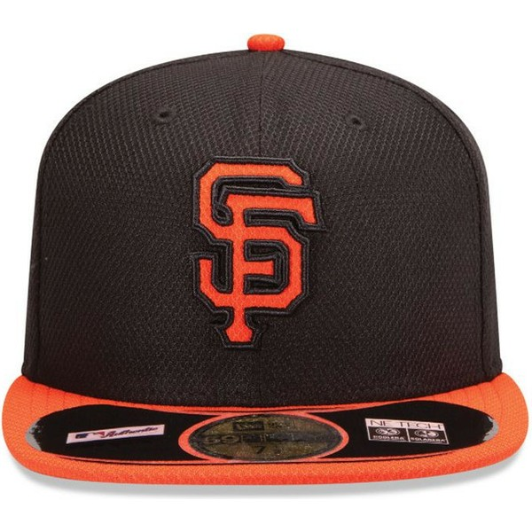 casquette-plate-noire-ajustee-59fifty-diamond-era-san-francisco-giants-mlb-new-era