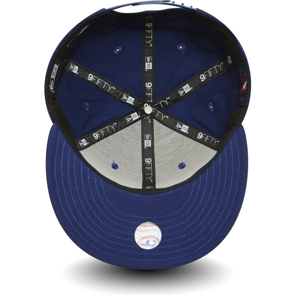 casquette-plate-bleue-snapback-9fifty-essential-los-angeles-dodgers-mlb-new-era