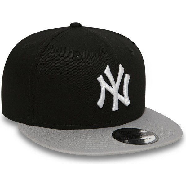 casquette-plate-noire-snapback-9fifty-cotton-block-new-york-yankees-mlb-new-era