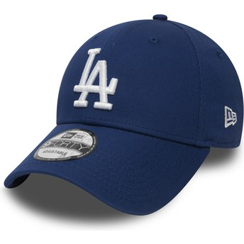 Casquette courbée bleue ajustable 9FORTY Essential Los Angeles Dodgers MLB New Era